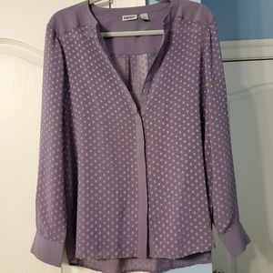 DKNY Like New Long Sleeve Blouse Size M